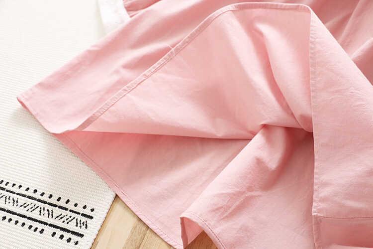Fisto Yaka Detaylı Pembe Elbise