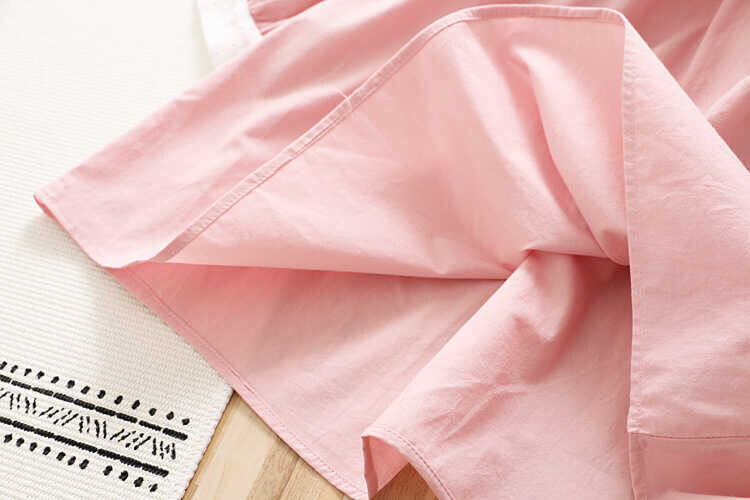 Fisto Yaka Detaylı Pembe Elbise - Thumbnail
