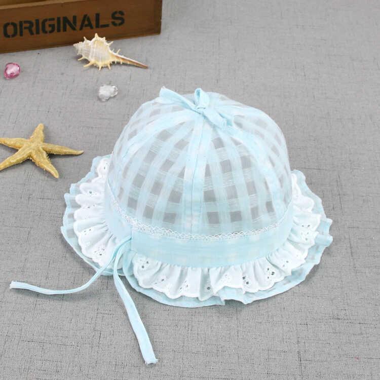 ss20P - Çiçek Detaylı Mavi Şapka