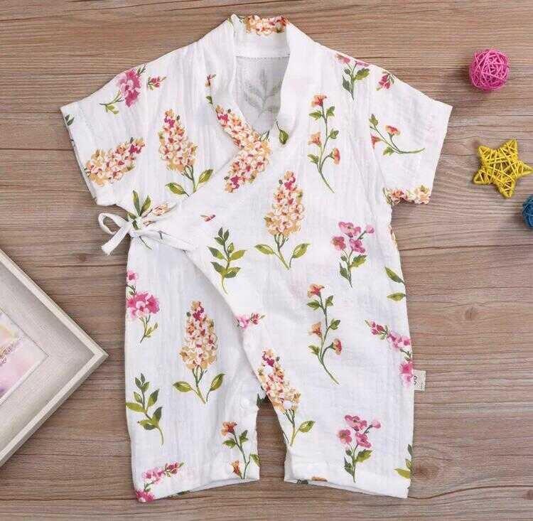 ss20P - Çiçekli Beyaz Pijama