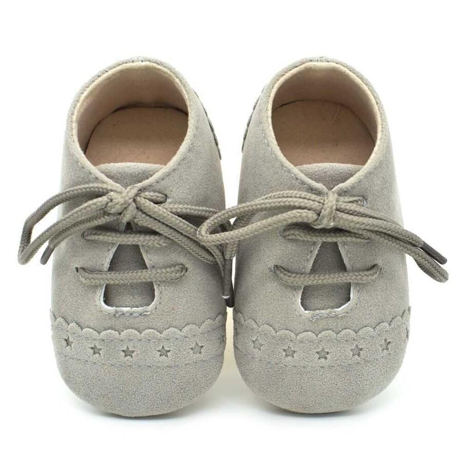 ss20P - Gri Bebek Ayakkabı