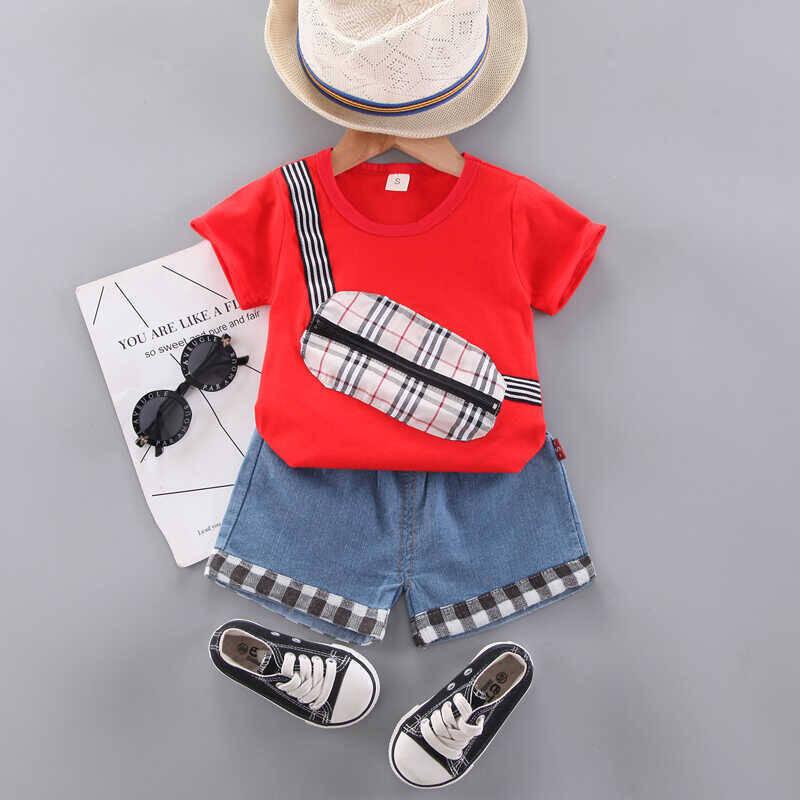 SUM21 - Kırmızı Bluz Ve Şortlu 2'li Takım