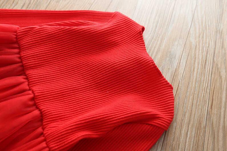 Kırmızı Elbise Ve Çanta 2'li Takım