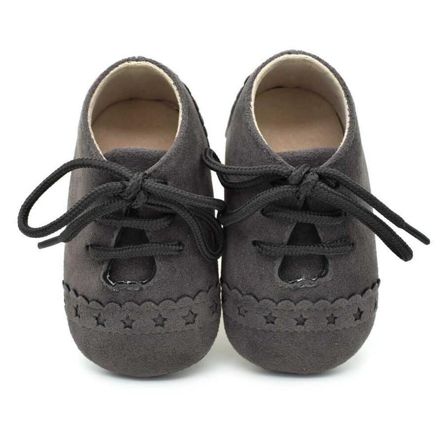 ss20P - Koyu Gri Bebek Ayakkabı
