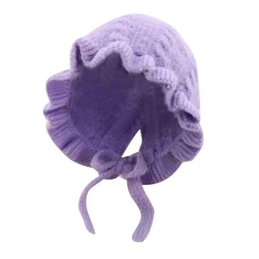AW21 - Mor Örgü Şapka