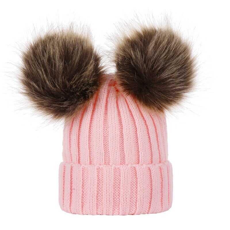 AW21 - Pembe Ponpon Şapka