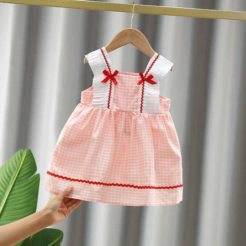 SUM211 - Pembe Pötikare Fiyonk Elbise