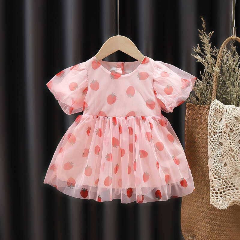 SUM211 - Pembe Şifon Elbise