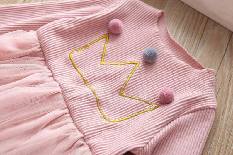 Pembe Elbise Ve Çanta 2'li Set - Thumbnail