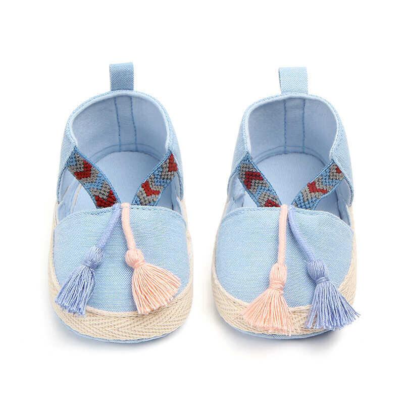 ss20P - Püsküllü Mavi Ayakkabı