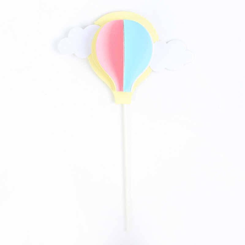 SS212 - Renki Balon Detaylı Pasta Süsü