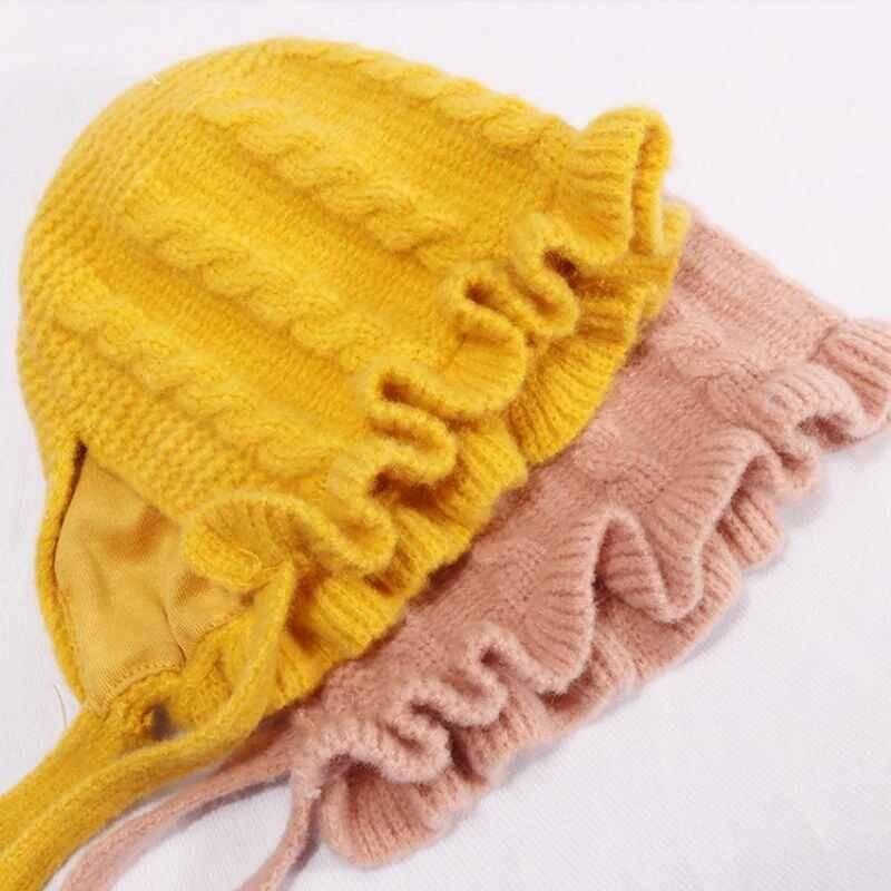 LHB2 - Sarı Örgü Şapka