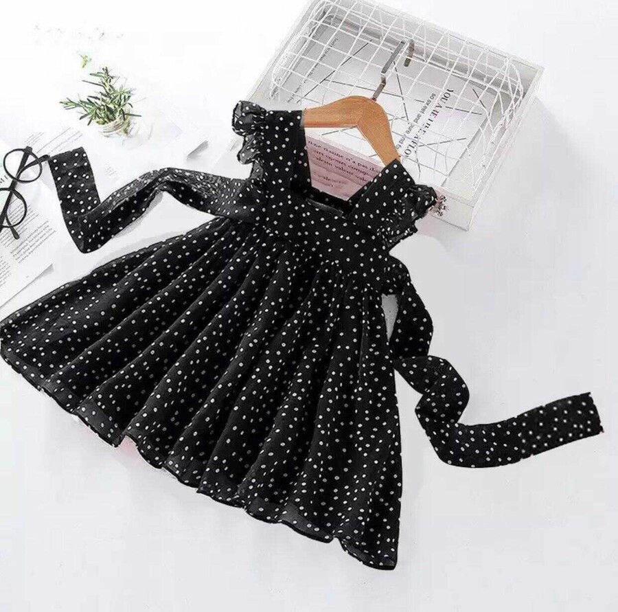 SUM21 - Siyah Tüllü Elbise