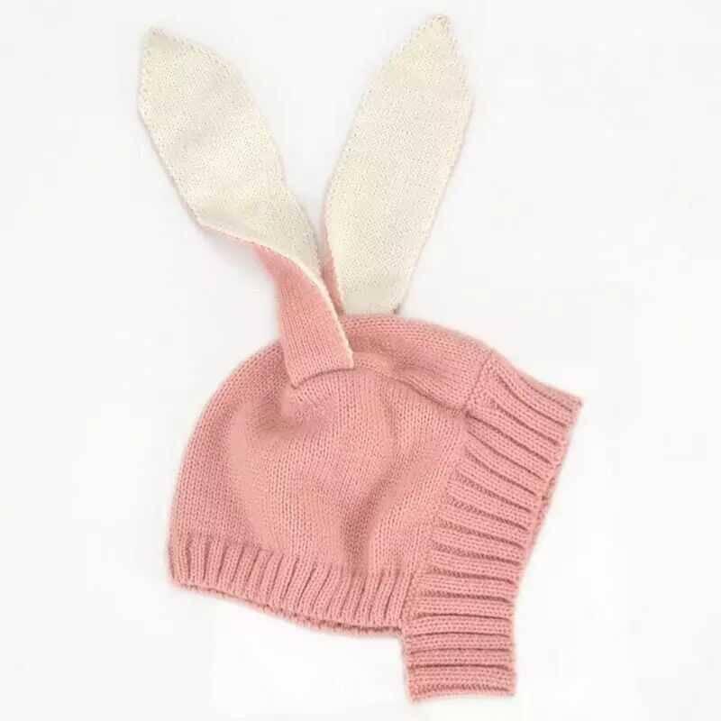 LHB2 - Tavşan Kulaklı Pembe Şapka