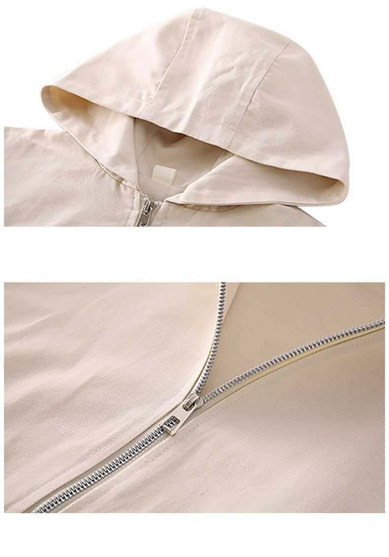Tül Detaylı Krem Ceket