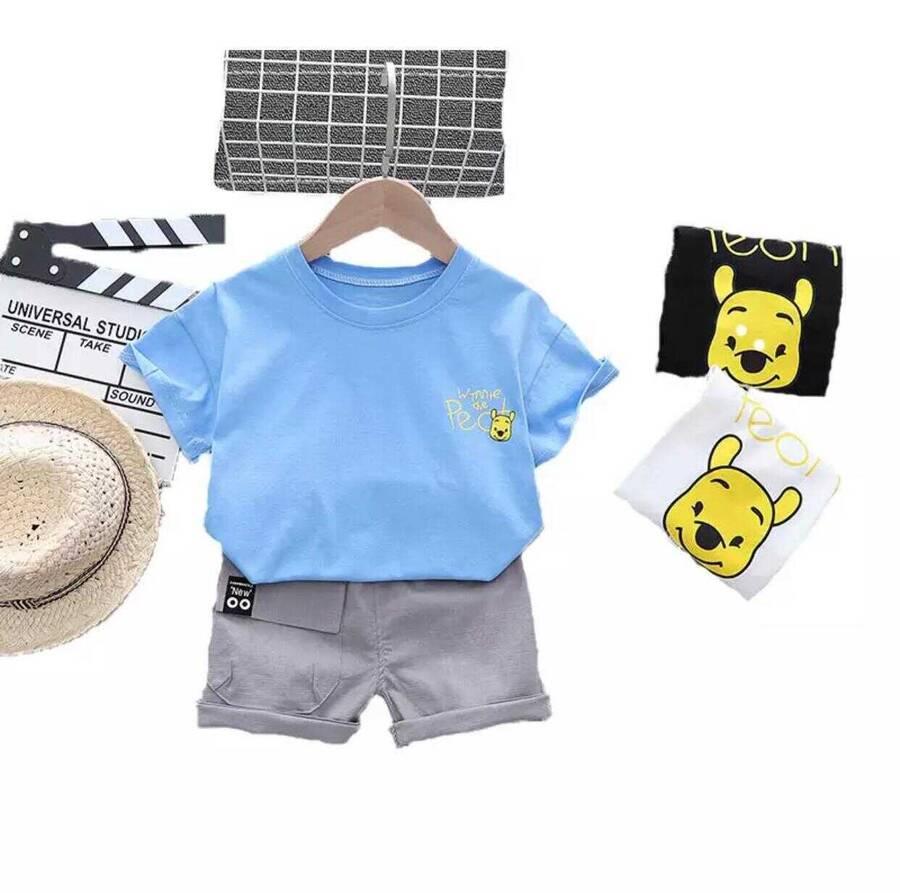 SUM211 - Winnie The Pooh T-shirt Şort 2'li Takım