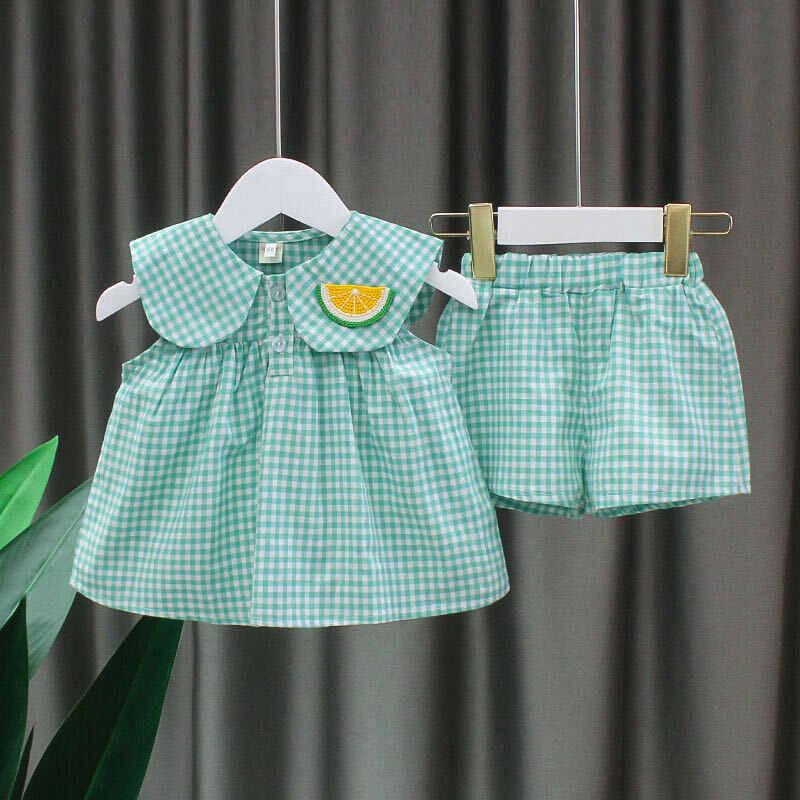 SUM211 - Yeşil Bluz Şort 2'li Takım